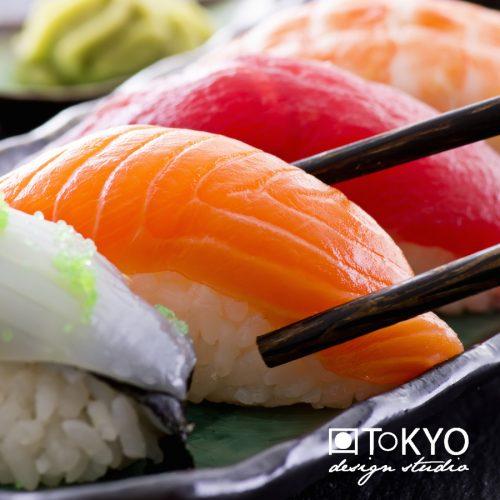 Sushi étkészlet