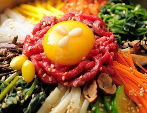 Koreai sült rizs – bibimbap